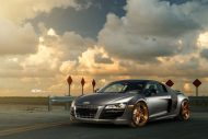 Audi R8 On ADV05R MV2 CS By ADV.1 Wheels 03 190x127 20 Zoll ADV05R MV2 CS Alufelgen am mattsilbernen Audi R8