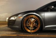 Audi R8 On ADV05R MV2 CS By ADV.1 Wheels 06 190x127 20 Zoll ADV05R MV2 CS Alufelgen am mattsilbernen Audi R8