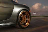 Audi R8 On ADV05R MV2 CS By ADV.1 Wheels 08 190x127 20 Zoll ADV05R MV2 CS Alufelgen am mattsilbernen Audi R8