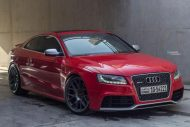 Audi RS5 BBS CH R wheels red gold centercaps Michelin PSS 1 190x127 Top   Audi RS5 Coupe auf grauen BBS CH R Alu's