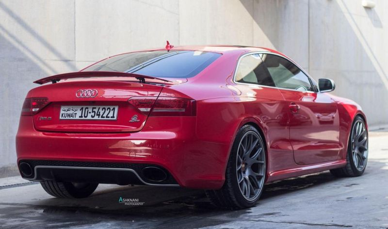 Audi-RS5-BBS-CH-R-wheels-red-gold-centercaps-Michelin-PSS-2