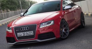 Audi RS5 BBS CH R wheels red gold centercaps Michelin PSS 4 310x165 Top   Audi RS5 Coupe auf grauen BBS CH R Alu's