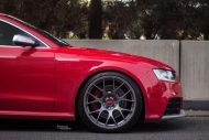 Audi RS5 BBS CH R wheels red gold centercaps Michelin PSS 6 190x127 Top   Audi RS5 Coupe auf grauen BBS CH R Alu's