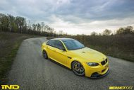 BMW E90 M3 Dakar Yellow Varis diffuser 3ddesign carbon bbs wheels custom 1 190x127 Mal was anderes   BMW E90 M3 in Gelb by iND Distribution