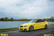 BMW E90 M3 Dakar Yellow Varis diffuser 3ddesign carbon bbs wheels custom 2 190x127 Mal was anderes   BMW E90 M3 in Gelb by iND Distribution