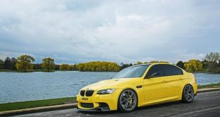 BMW E90 M3 Dakar Yellow Varis diffuser 3ddesign carbon bbs wheels custom 2 310x165 Mal was anderes   BMW E90 M3 in Gelb by iND Distribution