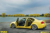 BMW E90 M3 Dakar Yellow Varis diffuser 3ddesign carbon bbs wheels custom 7 190x127 Mal was anderes   BMW E90 M3 in Gelb by iND Distribution