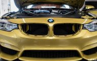 BMW M4 Gets A Bootload Of Tiny Details At European Auto Source 2 190x119 Sehr dezent   EAS Tuning am Austin Yellow lackierten BMW M4 F82