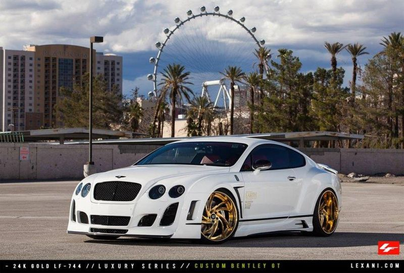 Bentley Continental GT by Lexani 01 tuning 1 Eieiei   Bentley Continental GT getunt von Lexani