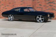 Black Chevelle restomod tuning car 1 190x126 Chevrolet Chevelle Restomod mit Chevy 502 V8