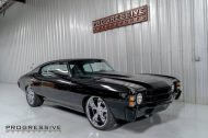 Black Chevelle restomod tuning car 11 190x126 Chevrolet Chevelle Restomod mit Chevy 502 V8
