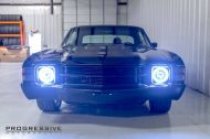 Black Chevelle restomod tuning car 12 190x126 Chevrolet Chevelle Restomod mit Chevy 502 V8