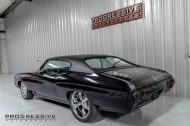 Black Chevelle restomod tuning car 14 190x126 Chevrolet Chevelle Restomod mit Chevy 502 V8