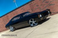 Black Chevelle restomod tuning car 2 190x126 Chevrolet Chevelle Restomod mit Chevy 502 V8