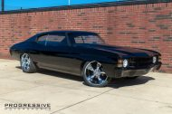 Black Chevelle restomod tuning car 3 190x126 Chevrolet Chevelle Restomod mit Chevy 502 V8