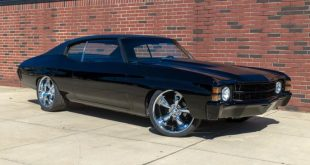 Black Chevelle restomod tuning car 3 310x165 Chevrolet Chevelle Restomod mit Chevy 502 V8