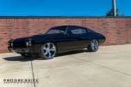 Black Chevelle restomod tuning car 4 190x126 Chevrolet Chevelle Restomod mit Chevy 502 V8