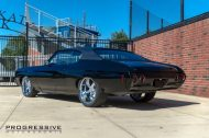 Black Chevelle restomod tuning car 5 190x126 Chevrolet Chevelle Restomod mit Chevy 502 V8