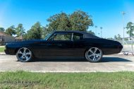 Black Chevelle restomod tuning car 7 190x126 Chevrolet Chevelle Restomod mit Chevy 502 V8