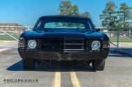 Black Chevelle restomod tuning car 8 190x126 Chevrolet Chevelle Restomod mit Chevy 502 V8