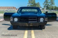 Black Chevelle restomod tuning car 9 190x126 Chevrolet Chevelle Restomod mit Chevy 502 V8