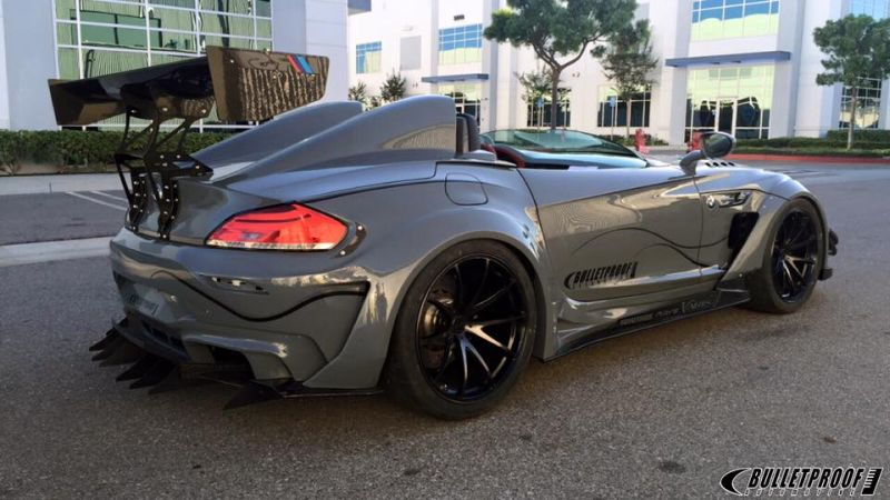 Sema 2015 Bulletproof Automotive Bmw Z4 Gt Continuum