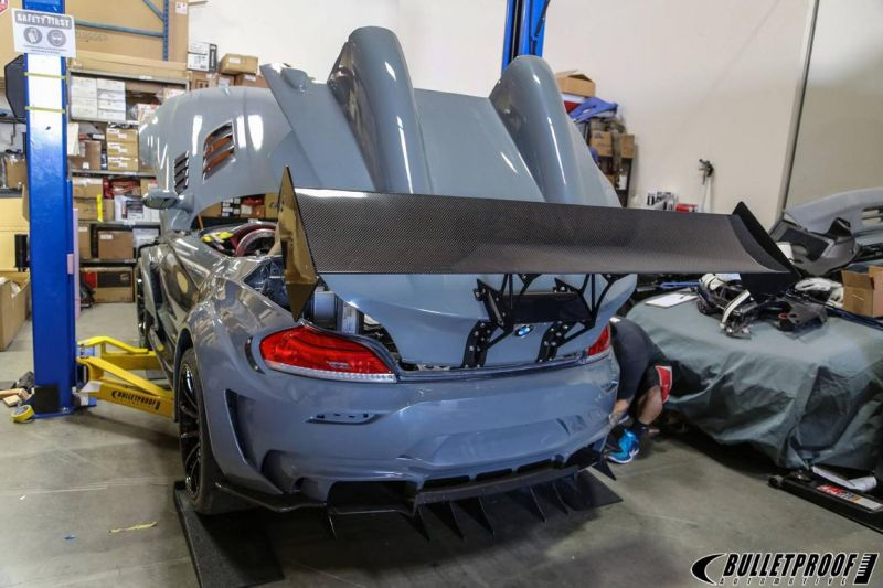 Bulletproof BMW Z4 GT Continuum SEMA 2015 tuning 7 SEMA 2015: Bulletproof Automotive BMW Z4 GT Continuum