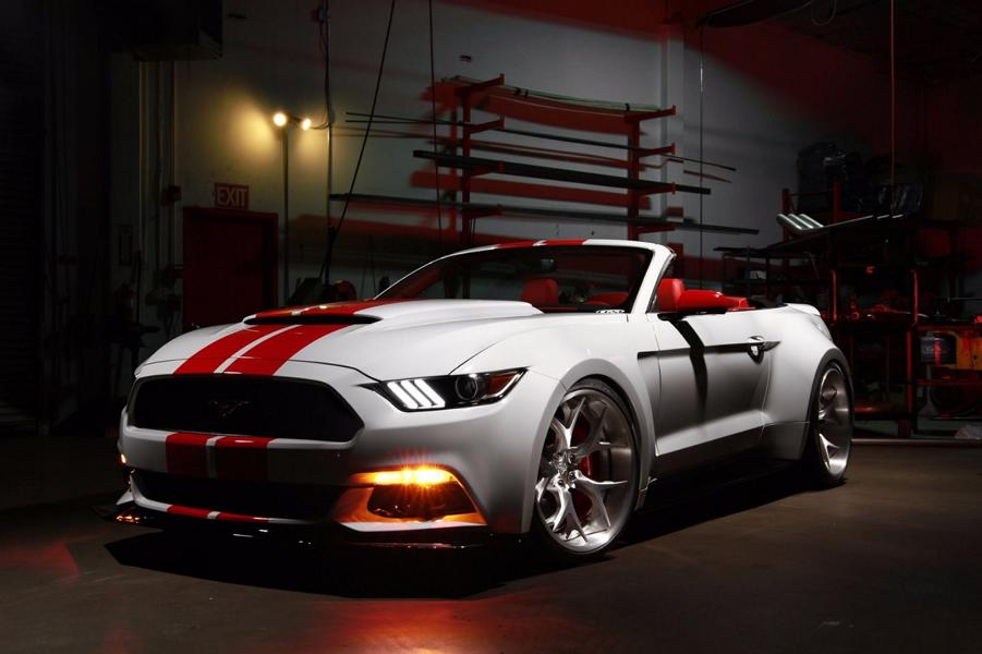 CGS Performance Widebody Ford Mustang GT Tuning 1 Fettes Ford Mustang Cabrio von CGS Performance
