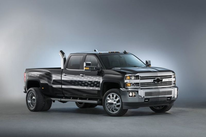 Chevrolet Silverado Kid Rock tuning 1 Auf der Sema   Chevrolet Silverado 3500HD Kid Rock