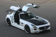 Hamann Motorsport Mercedes Benz SLS AMG C197 Tuning 11 190x127 Video: Hamann Hawk Mercedes SLS AMG Roadster