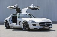 Hamann Motorsport Mercedes Benz SLS AMG C197 Tuning 22 190x126 Video: Hamann Hawk Mercedes SLS AMG Roadster