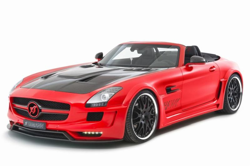 Hamann Motorsport Mercedes-Benz SLS Roadster R197 Tuning  (12)