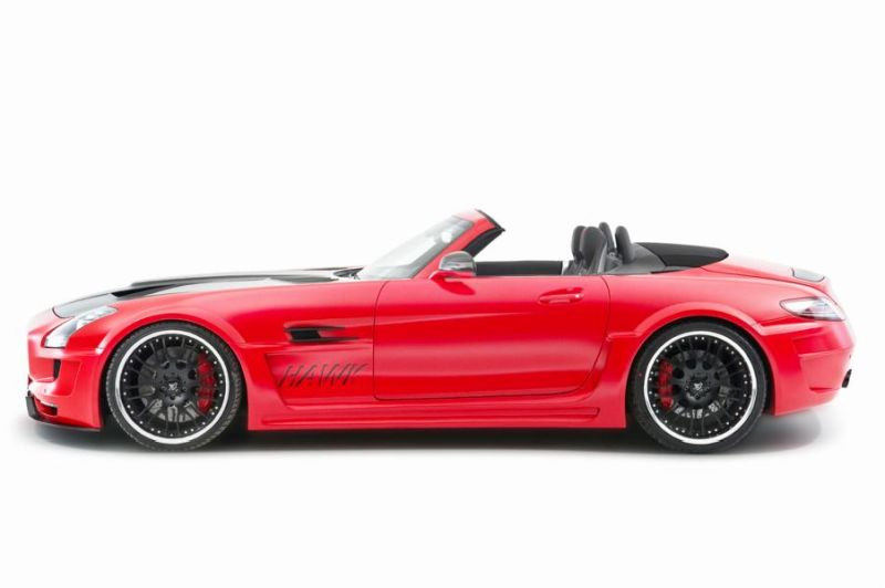 Hamann Motorsport Mercedes-Benz SLS Roadster R197 Tuning  (13)