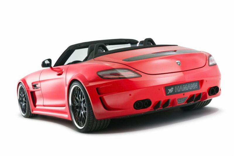 Hamann Motorsport Mercedes-Benz SLS Roadster R197 Tuning  (14)