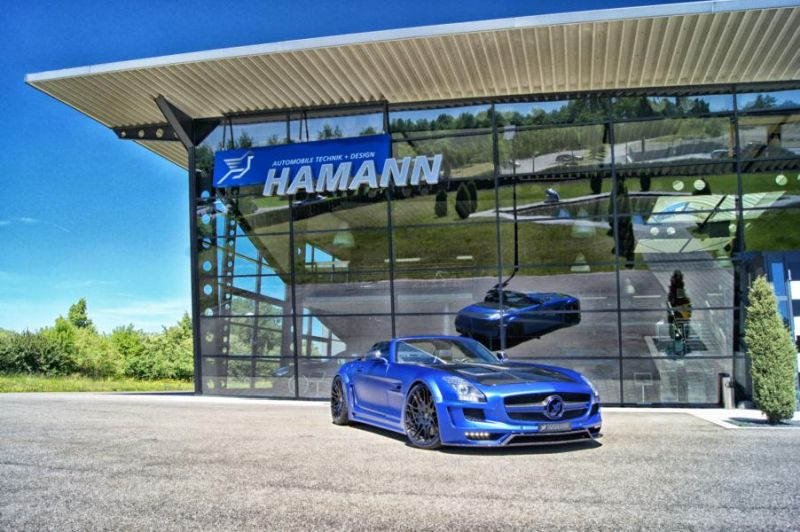 Hamann Motorsport Mercedes-Benz SLS Roadster R197 Tuning  (2)