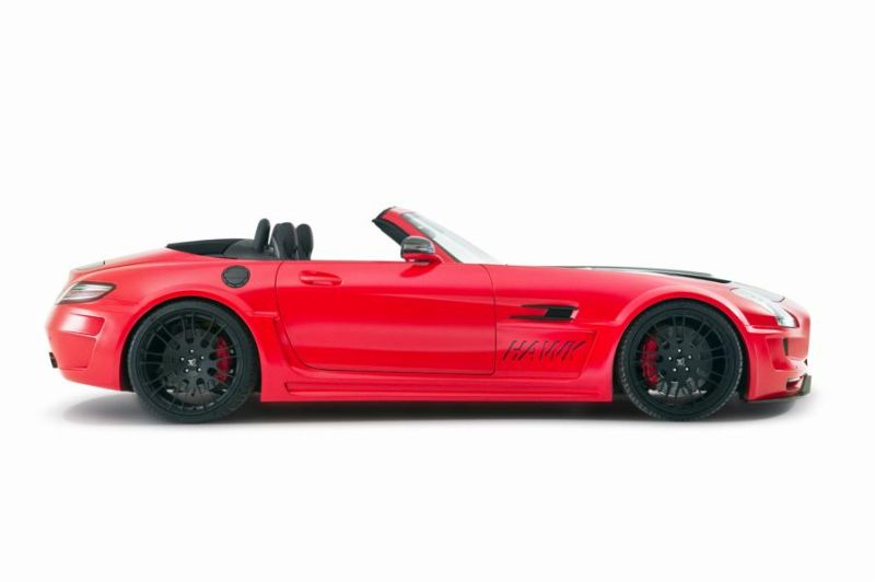 Hamann Motorsport Mercedes-Benz SLS Roadster R197 Tuning  (21)