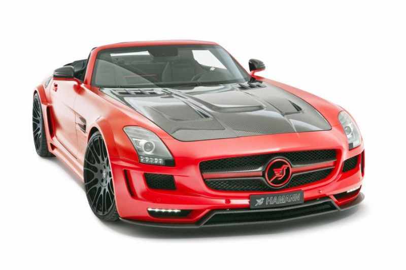 Hamann Motorsport Mercedes-Benz SLS Roadster R197 Tuning  (36)