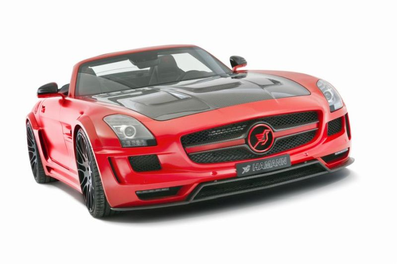 Hamann Motorsport Mercedes-Benz SLS Roadster R197 Tuning  (9)