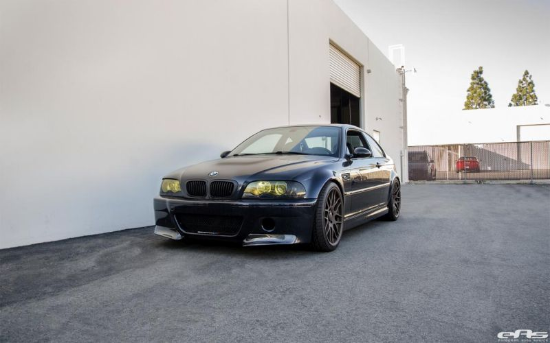 Interesting Looking BMW E46 M3 By European Auto Source 1 Böses Outfit   schwarzer BMW E46 M3 by EAS Tuning