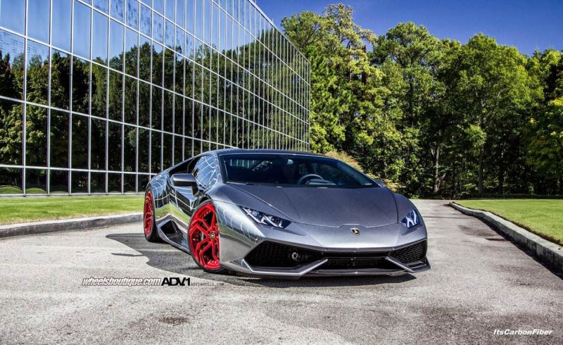 Lamborghini Huracan LP610 On ADVNL2 MV.2 By ADV.1 Wheels 01 ADVNL2 MV.2 By ADV.1 Wheels am Lamborghini Huracan LP610