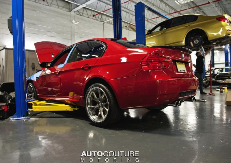 Melbourne-Red-BMW-E92-M3-With-Tuning-4