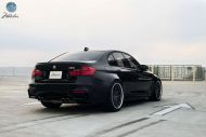 Modulare Wheels BMW M3 1 tuning 3 190x127 20 Zoll Modulare Wheels C1 am BMW M3 F80 in Schwarz