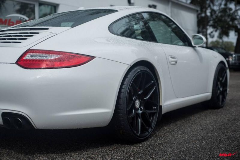 Porsche 911 Typ 997 HRE Performance Wheels Typ FF01 Tuning 1