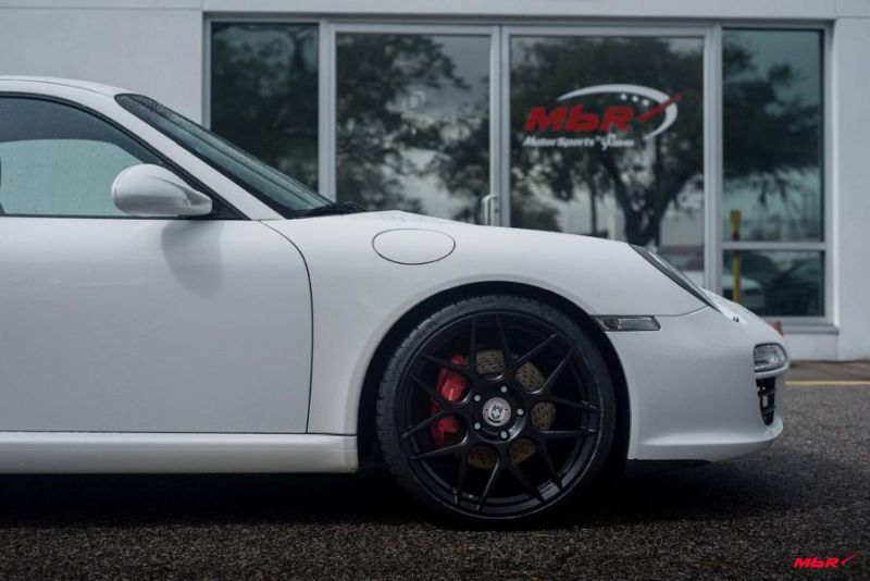 Porsche 911 Typ 997 HRE Performance Wheels Typ FF01 Tuning 3