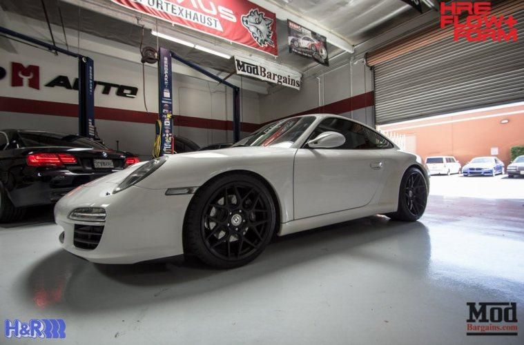 Porsche-997-Carrera-HRE-FF01-Tarmac-on-HR-Springs-1
