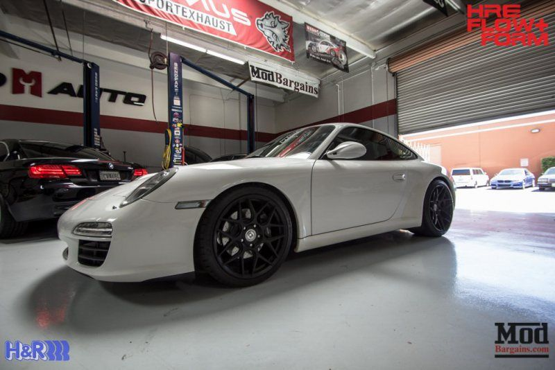 Porsche-997-Carrera-HRE-FF01-Tarmac-on-HR-Springs-6