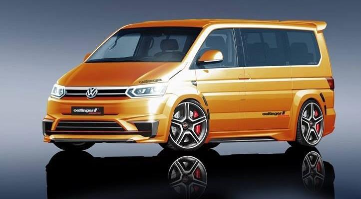 VW T6 Oettinger T6 500R 2015 1 7 tuning 1 Vision: VW T6 Bus als T6 500R vom Tuner Oettinger