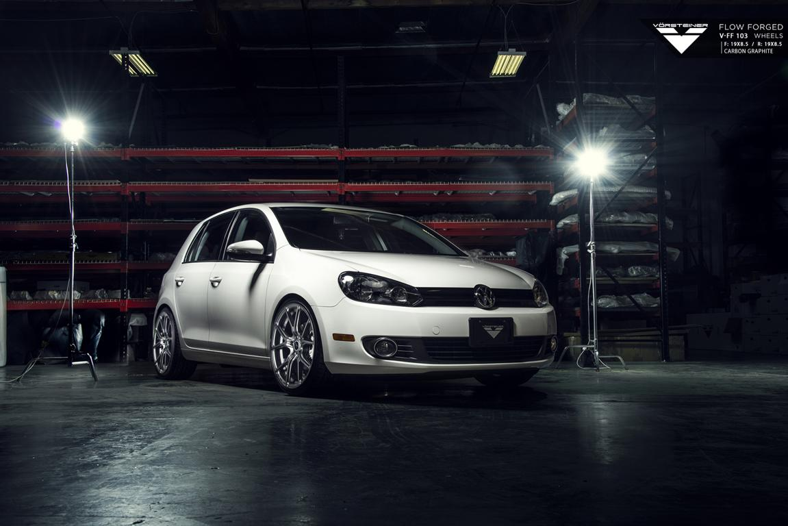 Vorsteiner Flow Forged V FF 103 Wheels for the Volkswagen Golf GTI 1 Volkswagen VW Golf Gti auf 19 Zoll V FF 103 Alufelgen