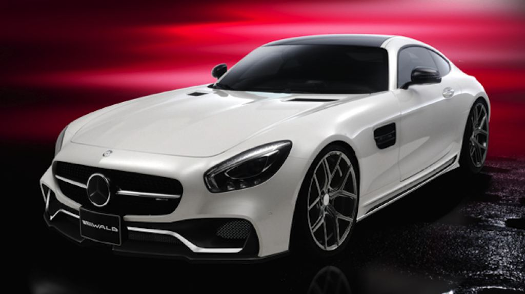 Wald Mercedes AMG GT 1 Vorschau: Mercedes AMG GT by Wald Internationale