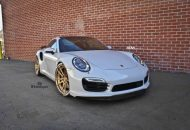 adv1 wheels 991 turbo pirelli tire letters gold bronze racing c 3 190x130 Porsche 991 Turbo S auf 21 Zoll ADV5.2 Mattbronze Alu's
